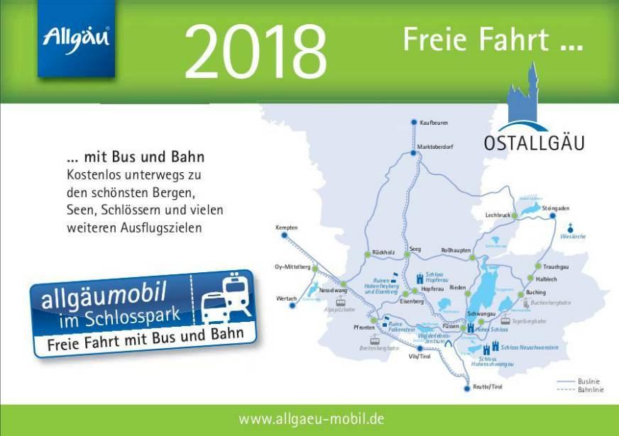 Allgäu mobil - Freie Fahrt mit Bus und Bahn